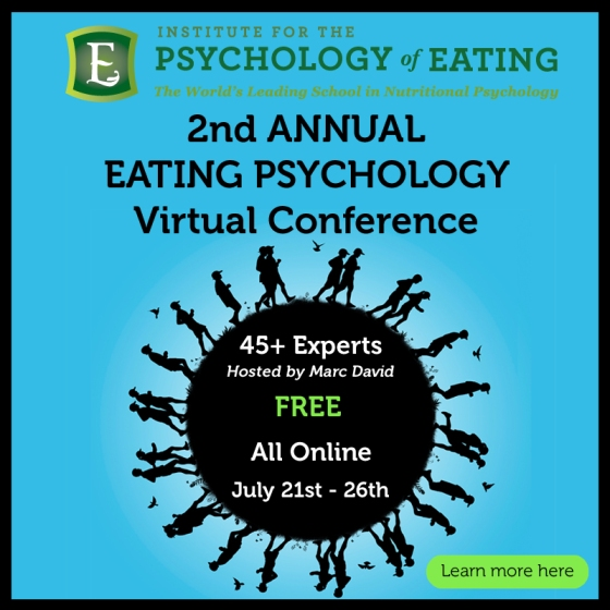 Free Eating Psychology Conference July 21-26