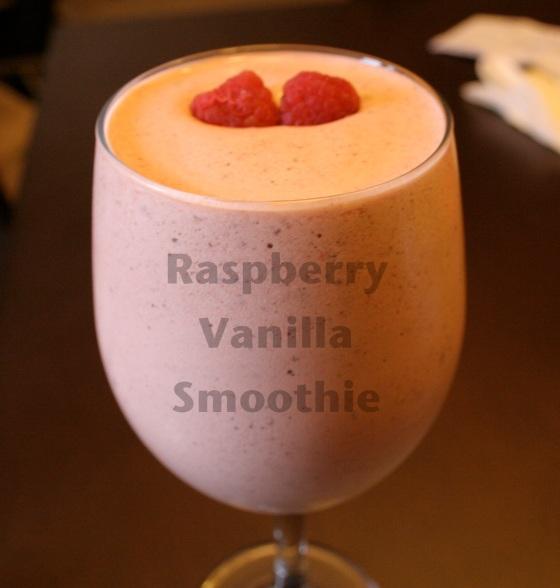 Raspberry Vanilla Smoothie